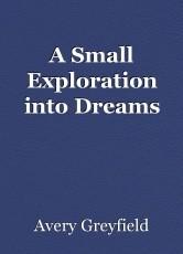 A Small Exploration into Dreams