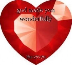 god made you wonderfully
