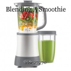 Blending A Smoothie