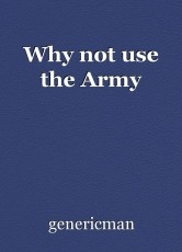 Why not use the Army