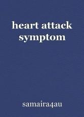 heart attack symptom