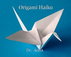 Origami Haiku