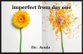 imperfect from day one
