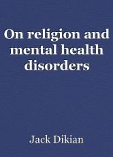 On religion and mental health disorders