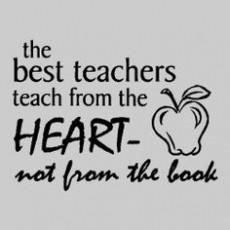 Great Teacher Sayings