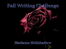 Fall Writing Challenge