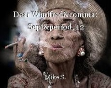 Dear Winifred, Sept. 12