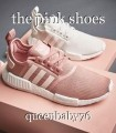 the pink shoes