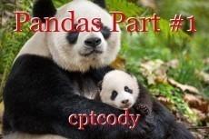 Pandas Part #1
