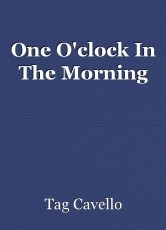 One O'clock In The Morning