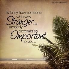 A Strangers Message