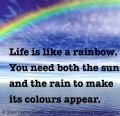 Like this rainbow