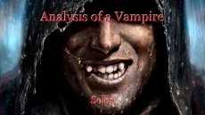 Analysis of a Vampire