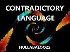 Contradictory Language