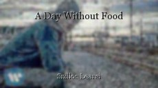 A Day Without Food