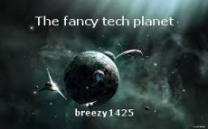 The fancy tech planet