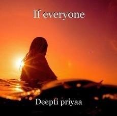 If everyone