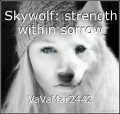 Skywolf: strength within sorrow