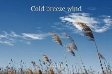 Cold breeze wind