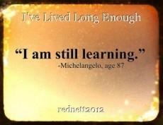 I've Lived Long Enough