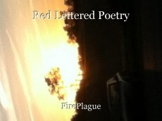 Red Lettered Poetry