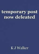 temporary post now deleated
