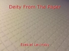 Deity From The Paper