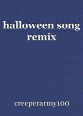 halloween song remix