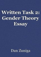 Written Task 2: Gender Theory Essay