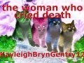 the woman who cried death