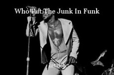 Who Put The Junk In Funk