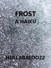 Frost -- a Haiku