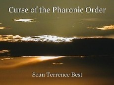 Curse of the Pharonic Order