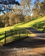 Walking With A Notebook