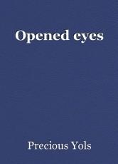 Opened eyes