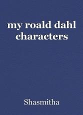my roald dahl characters