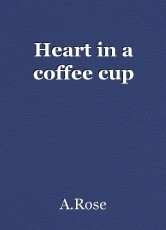 Heart in a coffee cup
