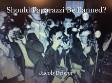 Should Paparazzi Be Banned?