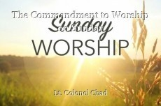 The Commandment to Worship on Sunday