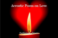 Acrostic Poem on Love
