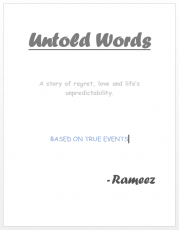 Untold Words