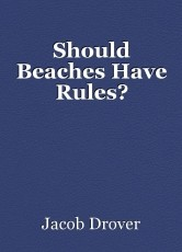 Should Beaches Have Rules?