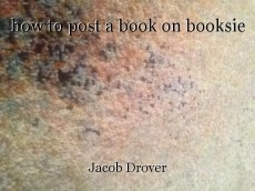 how to post a book on booksie