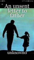 An unsent letter to father