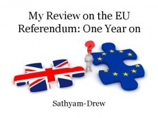 My Review on the EU Referendum: One Year on