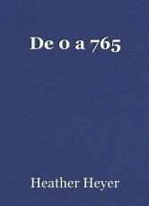 De 0 a 765