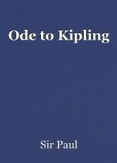 Ode to Kipling