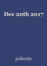 Dec 20th 2017