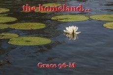 the homeland...