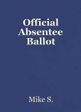 Official Absentee Ballot